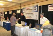 Todd at tradeshow